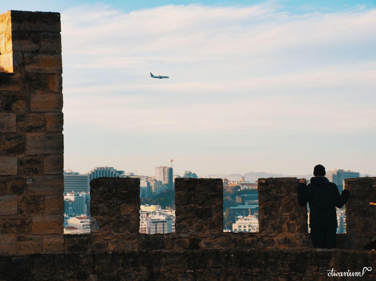 Widok z murów zamku